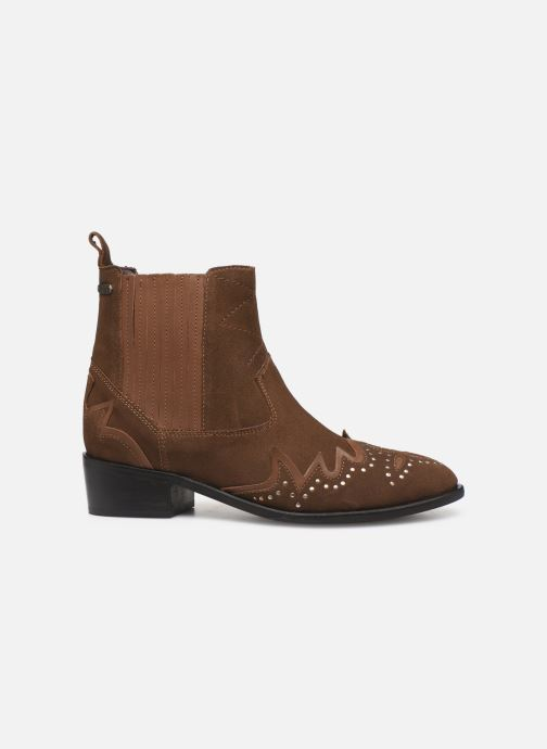 Ankle boots Pepe jeans Chiswick Easy C Brown back view