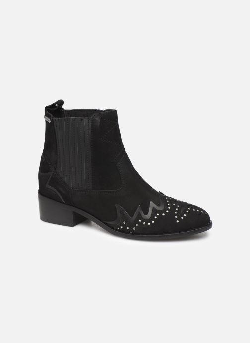 Bottines et boots Pepe jeans Chiswick Easy C Noir vue détail/paire