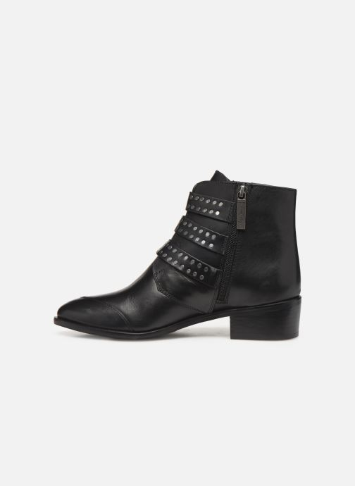 Boots en enkellaarsjes Pepe jeans Chiswick Lessy C Zwart voorkant