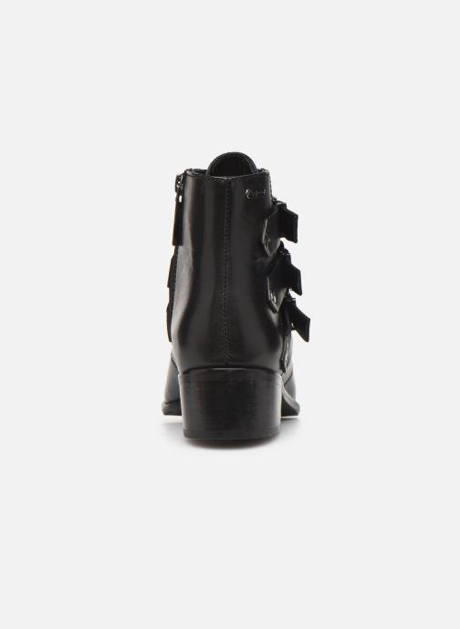 Boots en enkellaarsjes Pepe jeans Chiswick Lessy C Zwart rechts