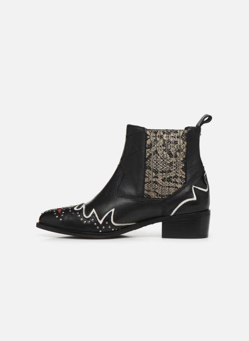 Bottines et boots Pepe jeans Chiswick West C Noir vue face