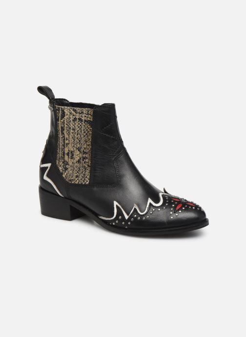 Bottines et boots Pepe jeans Chiswick West C Noir vue détail/paire