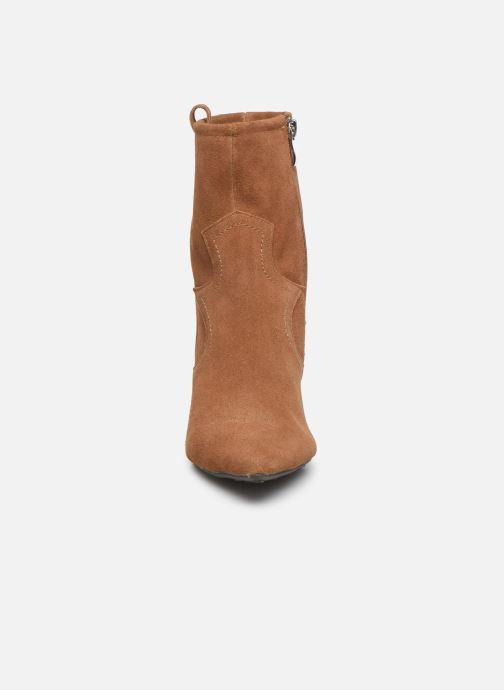 Bottines et boots Pepe jeans Gospel Tex C Marron vue portées chaussures