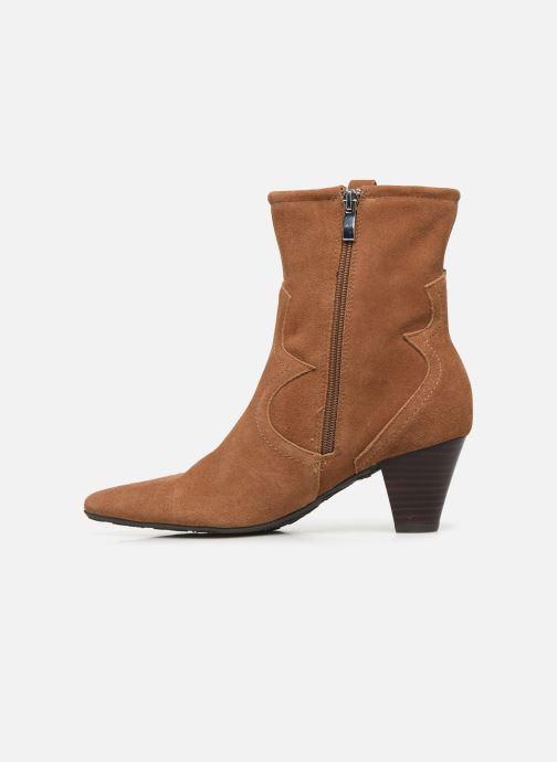 Boots en enkellaarsjes Pepe jeans Gospel Tex C Bruin voorkant