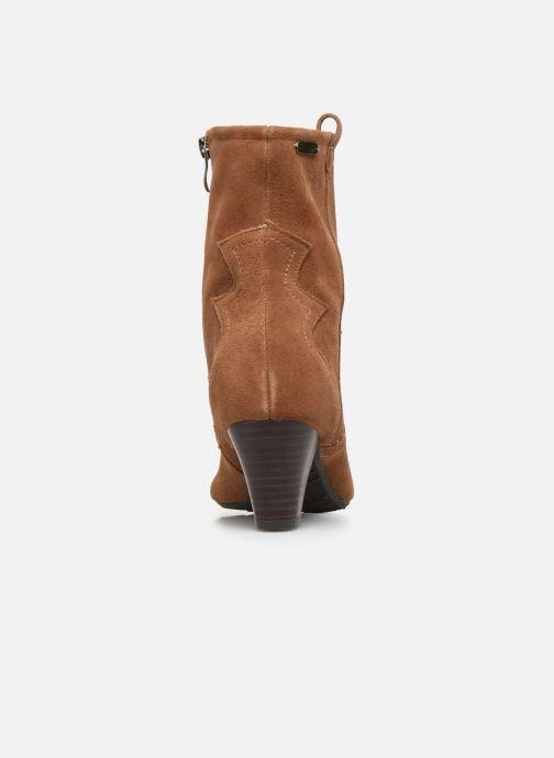 Boots en enkellaarsjes Pepe jeans Gospel Tex C Bruin rechts