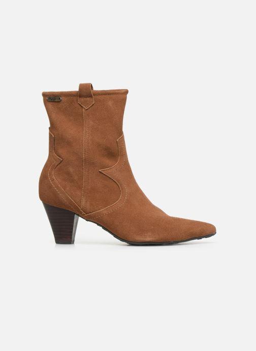 Boots en enkellaarsjes Pepe jeans Gospel Tex C Bruin achterkant