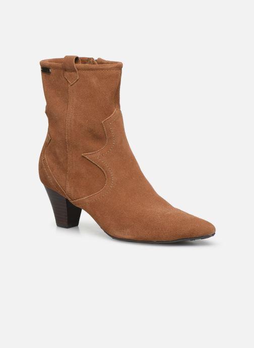 Bottines et boots Pepe jeans Gospel Tex C Marron vue détail/paire
