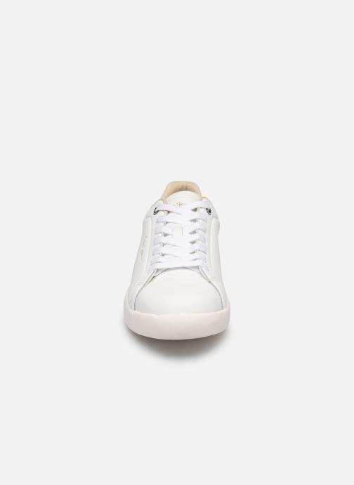 Baskets Pepe jeans Roland Lth C Blanc vue portées chaussures