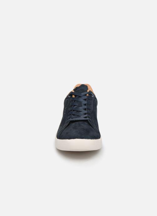 Baskets Pepe jeans Roland Split C Bleu vue portées chaussures