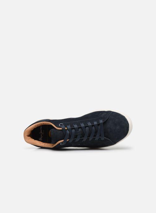 Baskets Pepe jeans Roland Split C Bleu vue gauche