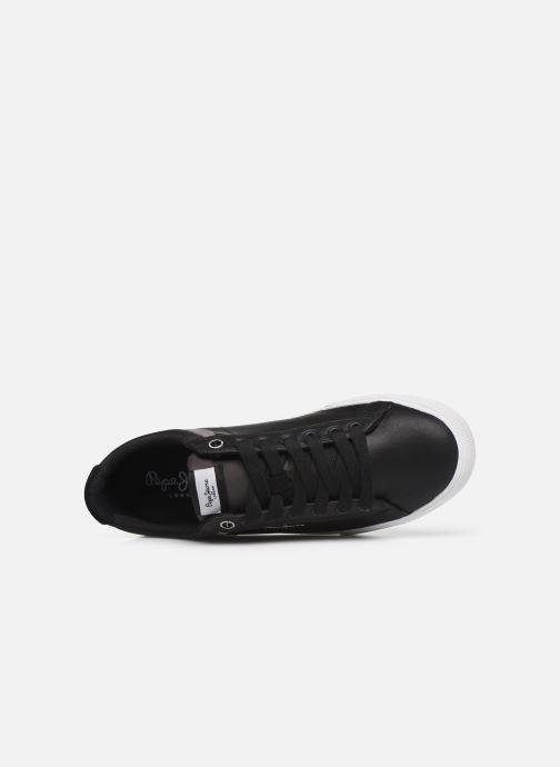 Baskets Pepe jeans North 19 C Noir vue gauche