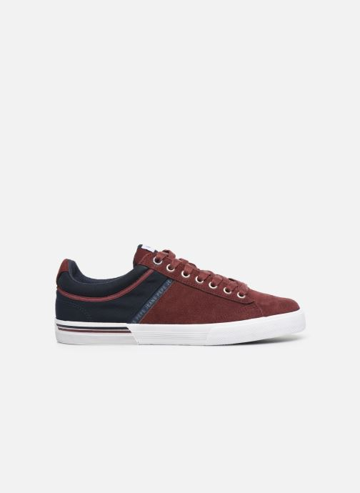 Trainers Pepe jeans North Zero C Burgundy back view
