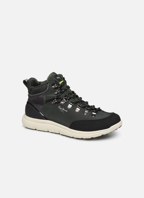 Zapatillas de deporte Pepe jeans Hike Moutain Nylon C Verde vista de detalle / par