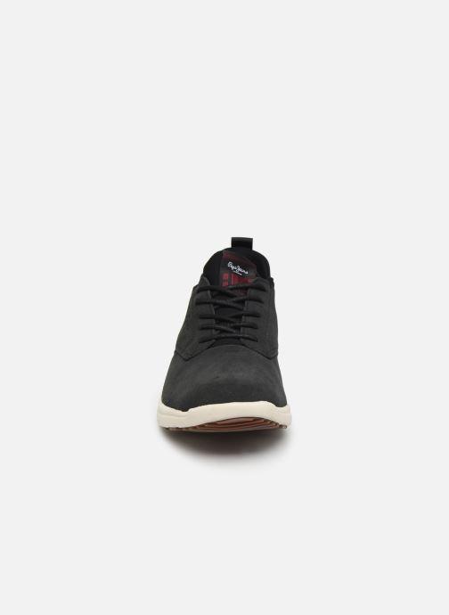 Baskets Pepe jeans Hike Smart C Gris vue portées chaussures