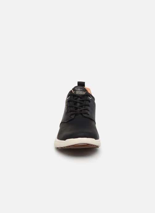 Sneaker Pepe jeans Hike Smart Boot C grau schuhe getragen