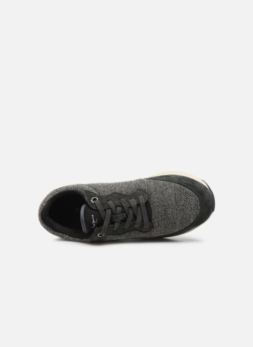 Sneaker Pepe jeans Jayker Fabric C grau ansicht von links