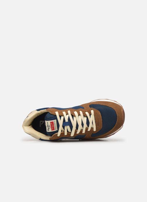 Baskets Pepe jeans Klein Archive C Multicolore vue gauche