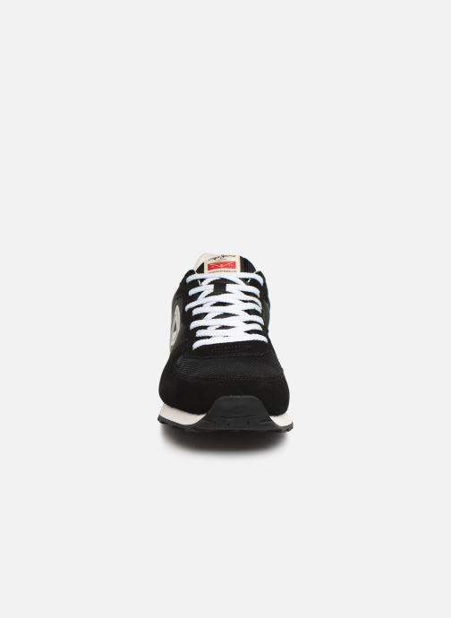 Sneaker Pepe jeans Klein Archive C schwarz schuhe getragen