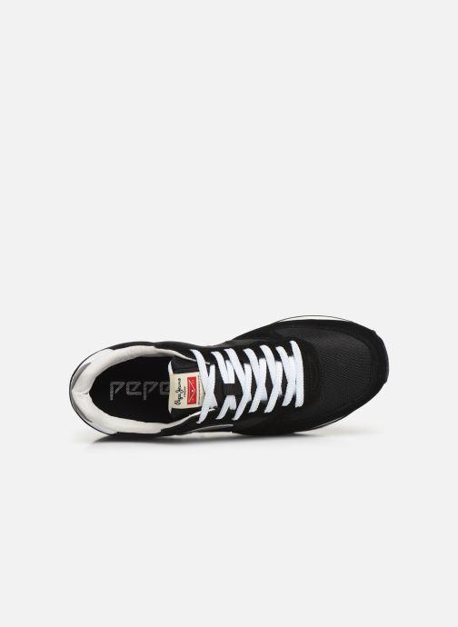 Sneaker Pepe jeans Klein Archive C schwarz ansicht von links