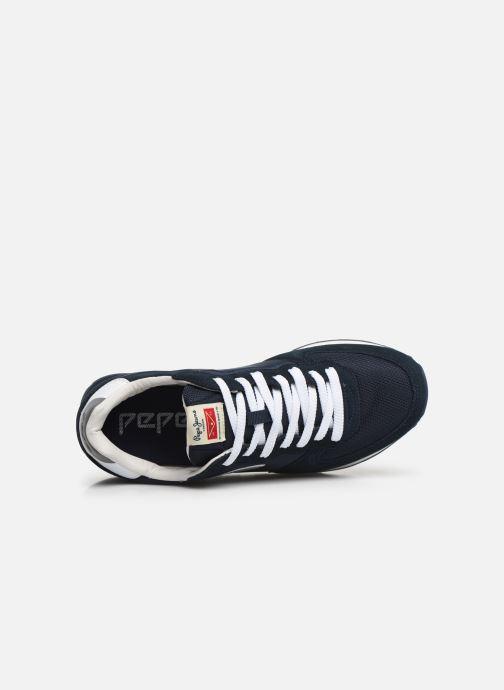 Sneaker Pepe jeans Klein Archive C blau ansicht von links
