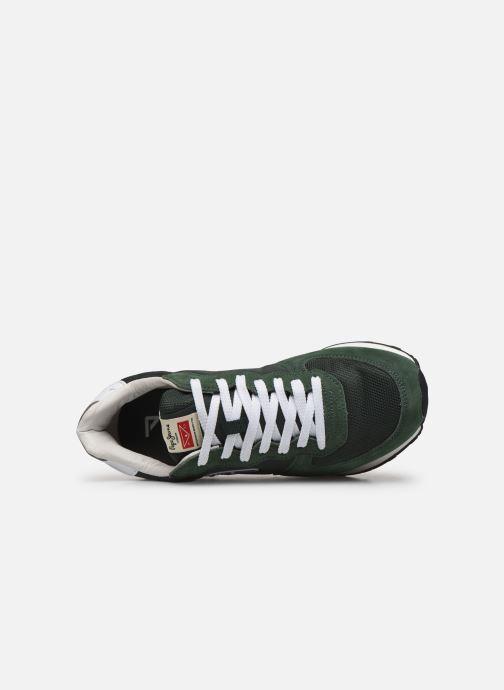Baskets Pepe jeans Klein Archive C Vert vue gauche