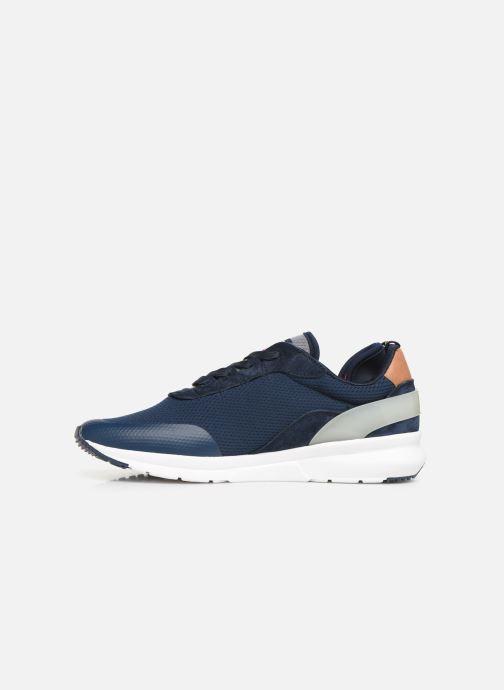 Sneaker Pepe jeans Nº22 M C blau ansicht von vorne
