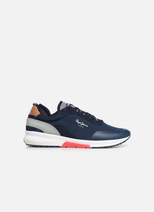 Sneaker Pepe jeans Nº22 M C blau ansicht von hinten