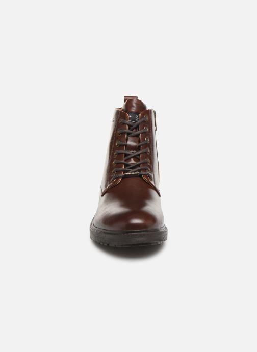 Stiefeletten & Boots Pepe jeans Porter Boot Basic C weinrot schuhe getragen