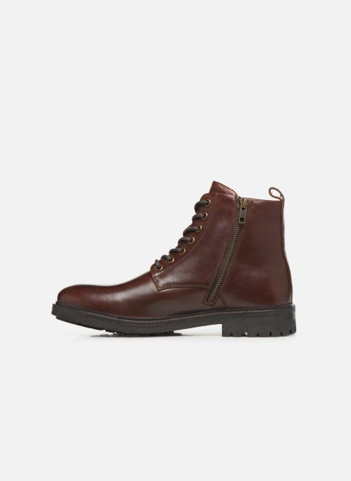Boots en enkellaarsjes Pepe jeans Porter Boot Basic C Bordeaux voorkant
