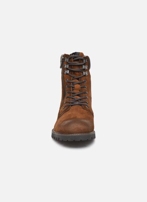 Stiefeletten & Boots Pepe jeans Melting Woodland C braun schuhe getragen