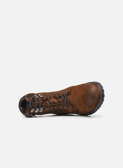Boots en enkellaarsjes Pepe jeans Melting Woodland C Bruin links