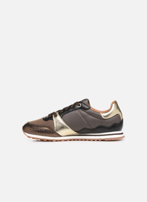 Sneakers Pepe jeans Verona W One Goud en brons voorkant