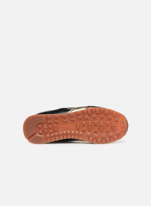 Baskets Pepe jeans Verona W One Or et bronze vue haut