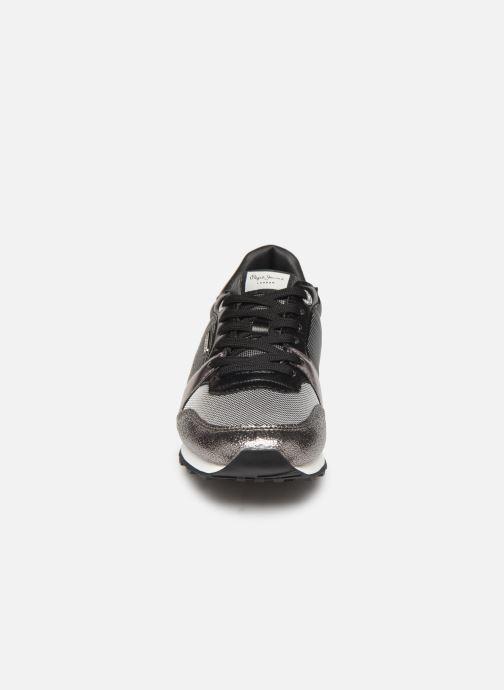 Baskets Pepe jeans Verona W One Gris vue portées chaussures