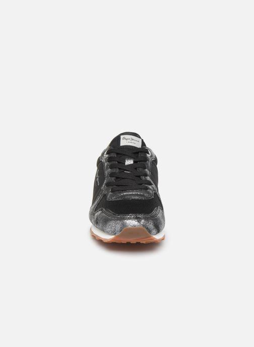 Baskets Pepe jeans Verona W Twin Noir vue portées chaussures