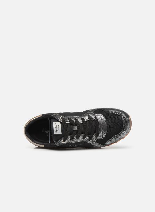 Baskets Pepe jeans Verona W Twin Noir vue gauche