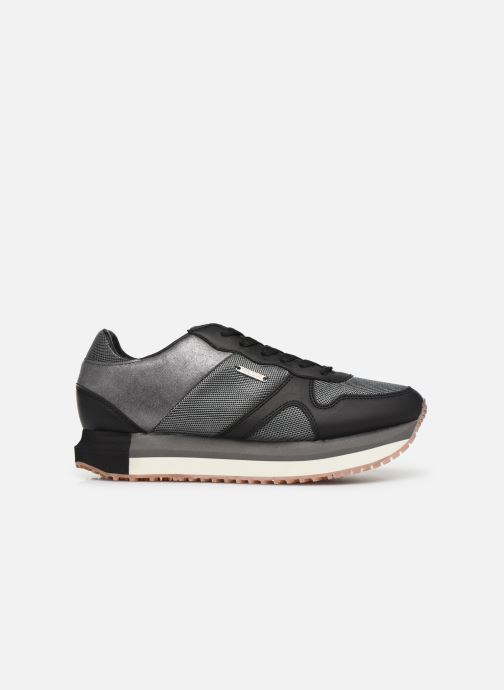 Trainers Pepe jeans Zion Mesh Black back view