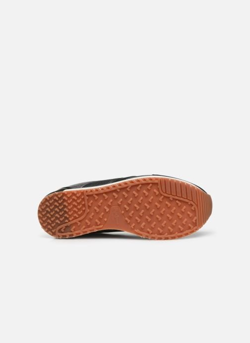 Trainers Pepe jeans Zion Mesh Black view from above