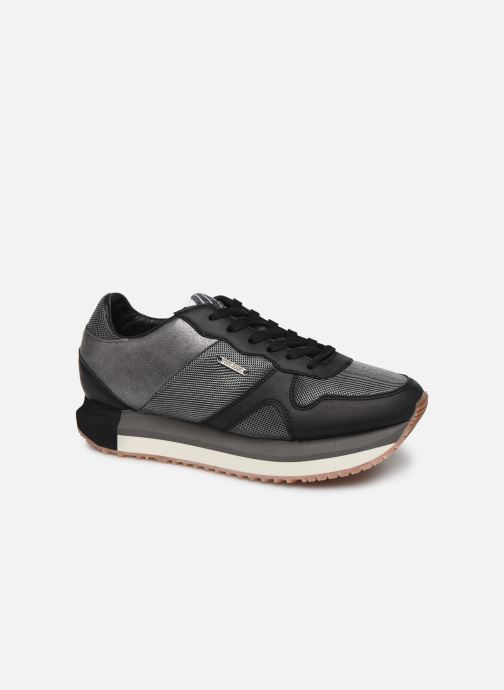 Trainers Pepe jeans Zion Mesh Black detailed view/ Pair view