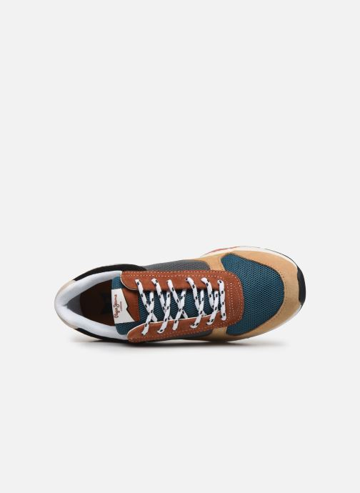 Baskets Pepe jeans Harlow Low Multicolore vue gauche