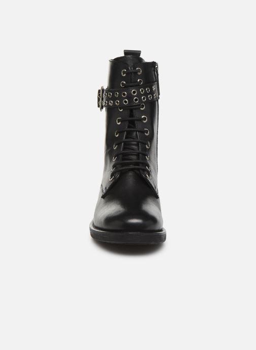 Bottines et boots Pepe jeans Maddox Bass Noir vue portées chaussures
