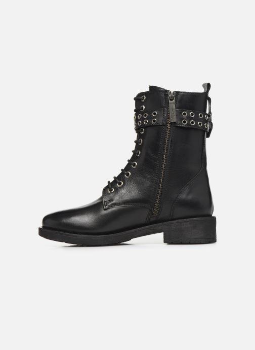 Bottines et boots Pepe jeans Maddox Bass Noir vue face