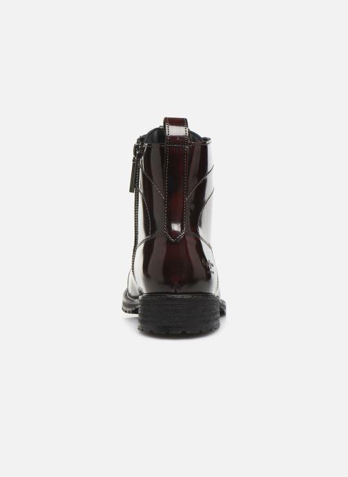 Bottines et boots Pepe jeans Melting Bass Bordeaux vue droite