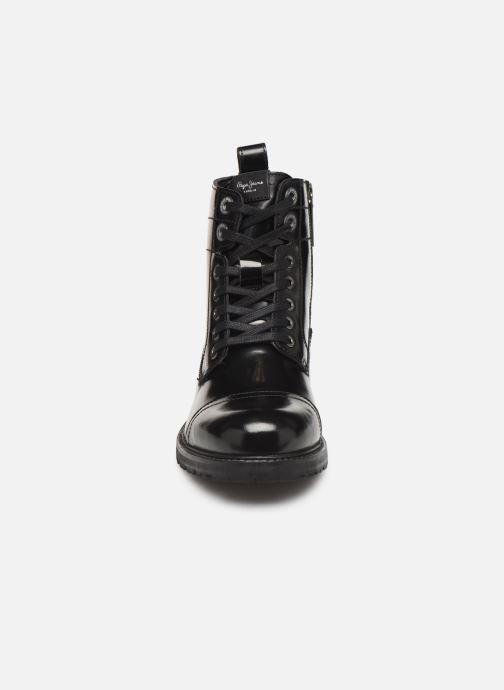 Bottines et boots Pepe jeans Melting Bass Noir vue portées chaussures