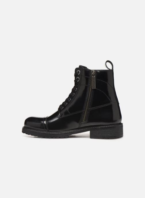 Bottines et boots Pepe jeans Melting Bass Noir vue face