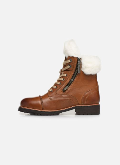 Ankle boots Pepe jeans Melting Russ Brown front view