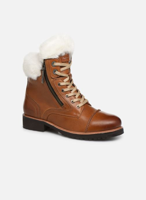 Ankle boots Pepe jeans Melting Russ Brown detailed view/ Pair view