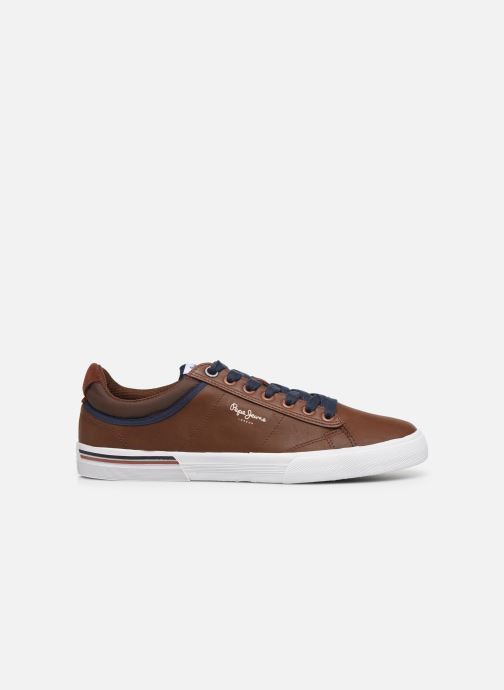 Sneakers Pepe jeans North 19 Bruin achterkant