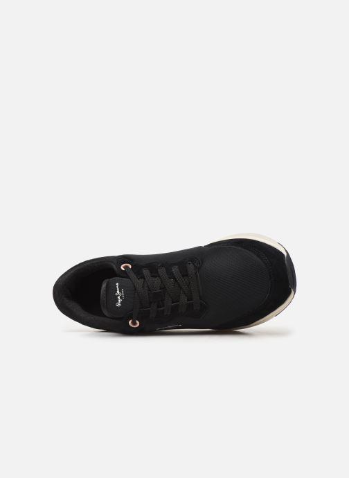 Deportivas Pepe jeans Jayker Basic Negro vista lateral izquierda