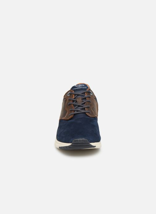 Baskets Pepe jeans Jayker Lth Mix Multicolore vue portées chaussures